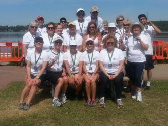 Haliburton Highlands Paddlers Team at Port Perry 2016